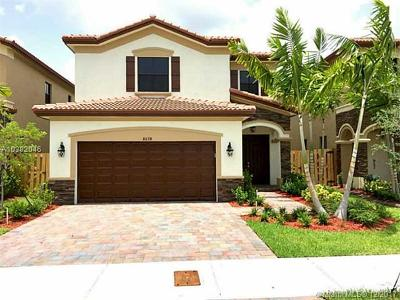 Doral Single Family Home For Sale: 8678 NW 99 Path