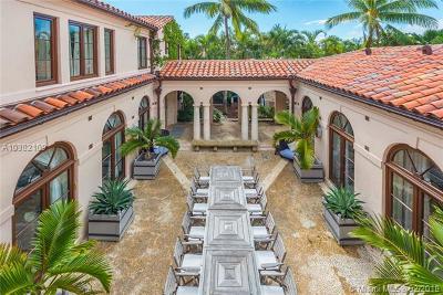 Miami Beach Single Family Home For Sale: 3675 Flamingo Dr