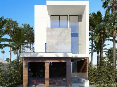 Miami Beach Single Family Home For Sale: 935 2nd St