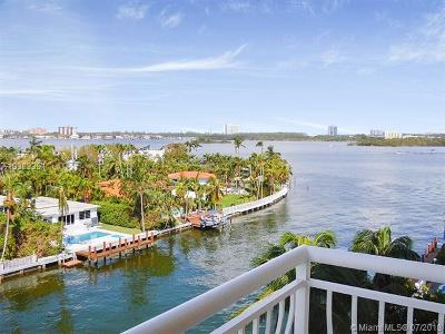 Bay Harbor Islands Condo For Sale: 10140 W Bay Harbor Dr #603C