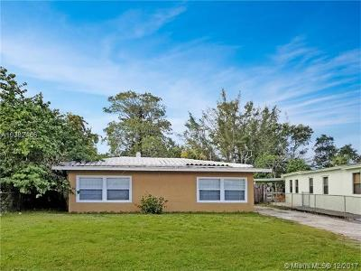 Fort Lauderdale Single Family Home For Sale: 1225 NW 17th Av