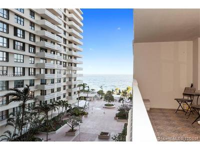 Bal Harbour Condo For Sale: 9801 Collins Ave #8V