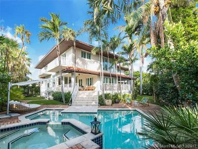 Key Biscayne Single Family Home For Sale: 690 Allendale Rd