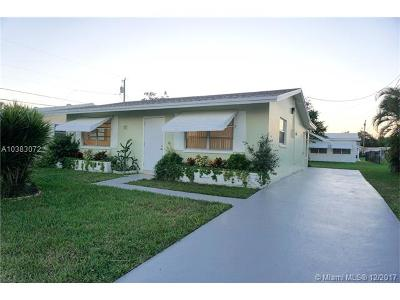 Tamarac Single Family Home For Sale: 5405 NW 27th Ter