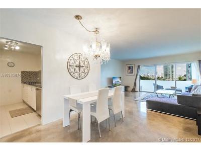 Miami Beach Condo For Sale: 3 Island Ave #6J