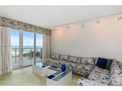 Miami Beach Condo For Sale: 5825 Collins Ave #5J