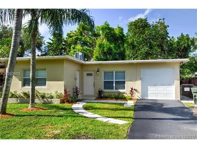 Fort Lauderdale Single Family Home Backup Contract-Call LA: 1835 Park Ln