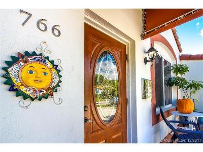 Miami Single Family Home For Sale: 766 NE 82nd Ter