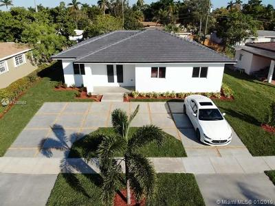 North Miami Single Family Home For Sale: 155 NE 134th St