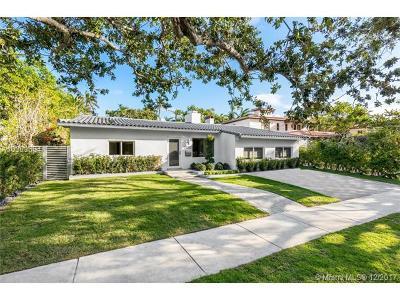 Miami Beach Single Family Home For Sale: 5225 N Bay Rd