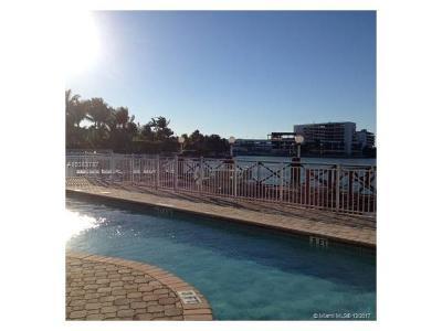 Miami Beach Condo For Sale: 4730 Pine Tree Dr #16