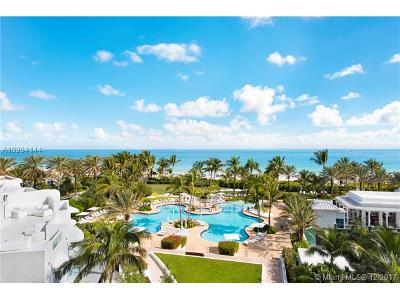 Miami Beach Condo For Sale: 100 S Pointe Dr #607