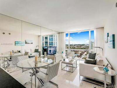 Miami Beach Condo For Sale: 6801 Collins Ave #1403