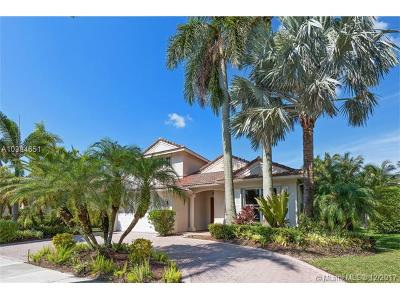 Weston Single Family Home For Sale: 1929 Harbor View Cir