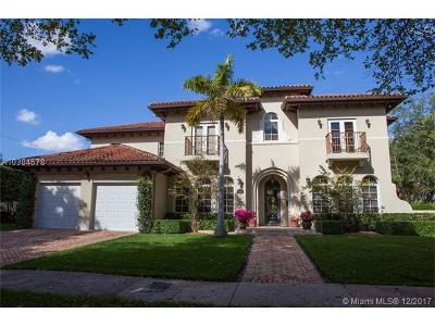 Coral Gables Single Family Home For Sale: 1209 Asturia Ave