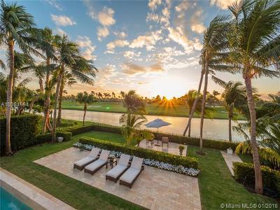 Miami Beach Single Family Home For Sale: 6016 La Gorce Dr