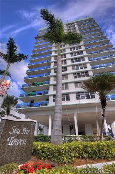 Hollywood Condo For Sale: 3725 S Ocean Dr #1123