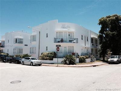 Miami Beach Condo For Sale: 320 80 #6