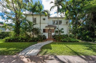 Coral Gables Single Family Home For Sale: 934 Palermo