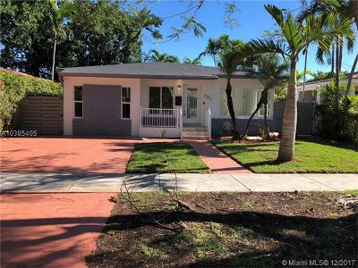 Miami FL Single Family Home For Sale: $599,000