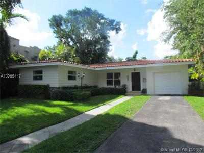 Coral Gables Single Family Home For Sale: 1114 Ferdinand