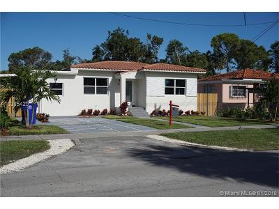 Miami Single Family Home For Sale: 3115 SW 27th St