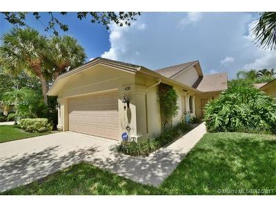 Jupiter Single Family Home For Sale: 438 River Edge Rd.