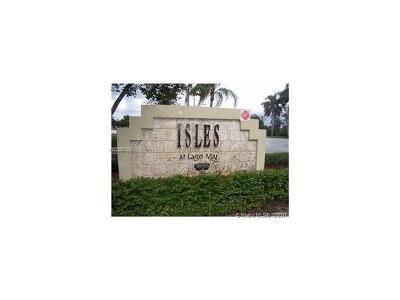Sunrise Condo For Sale: 12760 Vista Isles Dr #722