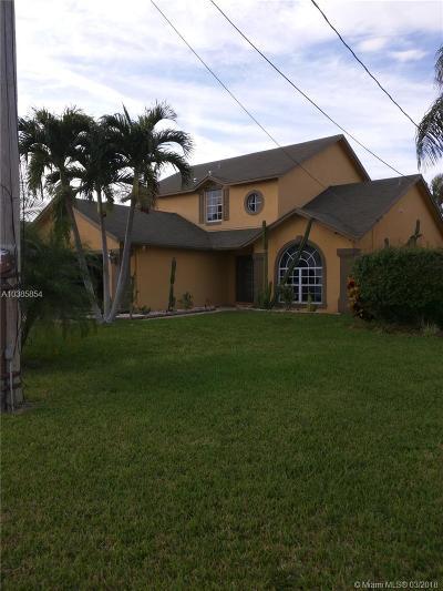 Jupiter Single Family Home For Sale: 6373 Barbara St