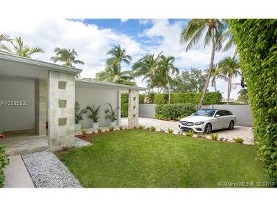 Miami Beach Single Family Home For Sale: 736 W 51st St