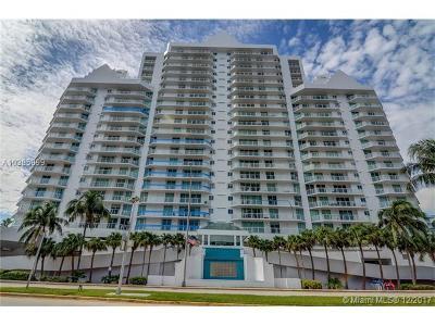 Miami Beach Condo For Sale: 5900 Collins Ave #708