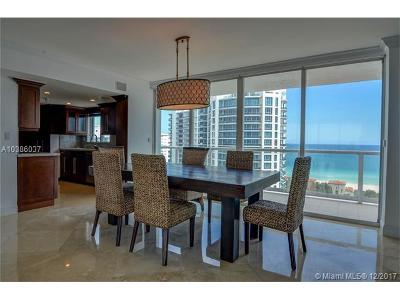 Miami Beach Condo For Sale: 5900 Collins Ave #1704