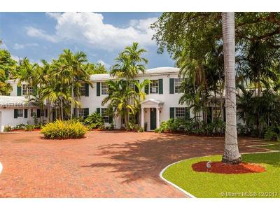 Miami Beach Single Family Home For Sale: 4825 Lakeview Dr