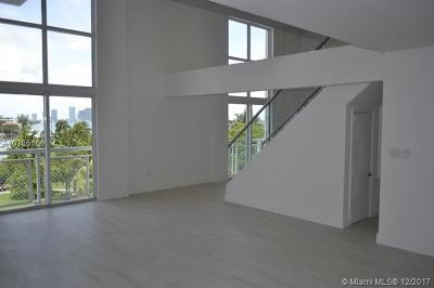 Miami Beach Condo For Sale: 1701 Sunset Harbour Dr #L502