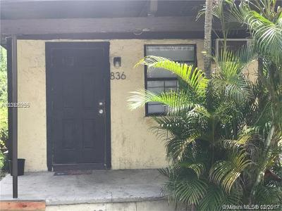 Fort Lauderdale Single Family Home For Sale: 836 NW 15th Ave