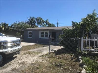 Fort Lauderdale Single Family Home For Sale: 3120 SW 12th Pl