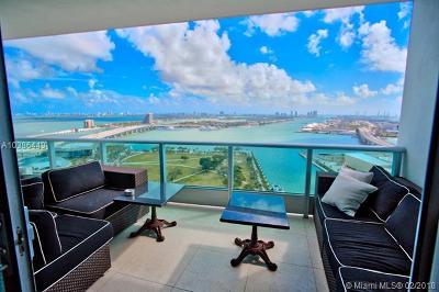 Miami-Dade County Condo For Sale: 900 Biscayne Blvd #2907