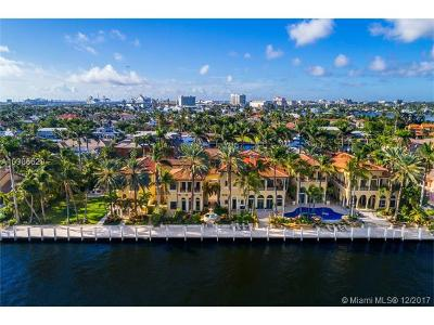 Fort Lauderdale Single Family Home For Sale: 9 Isla Bahia Dr
