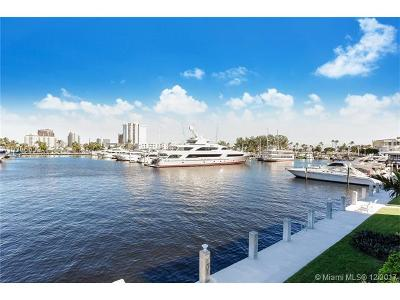 Fort Lauderdale Condo For Sale: 3025 Harbor Dr #4 & 2
