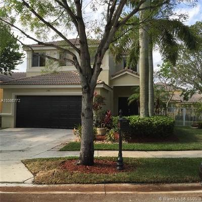 Weston Single Family Home For Sale: 1145 Golden Cane Dr