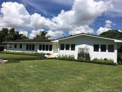 South Miami Single Family Home Pending Sale: 6625 SW 58th St