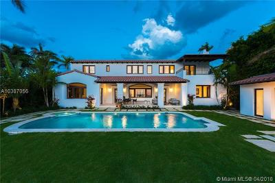 Miami Beach Single Family Home For Sale: 5410 N Bay Rd