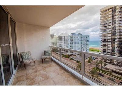 Miami Beach Condo For Sale: 5700 Collins Ave #11N