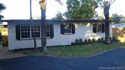 Fort Lauderdale Single Family Home For Sale: 823 SW 28th St