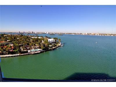 Bay Harbor Islands Condo For Sale: 10300 W Bay Harbor Dr #10D