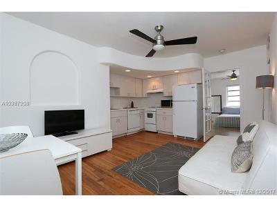 Miami Beach Condo For Sale: 901 Euclid Ave #4