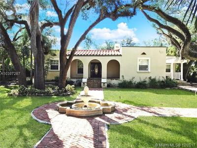 Coconut Grove Single Family Home For Sale: 1702 Espanola Dr
