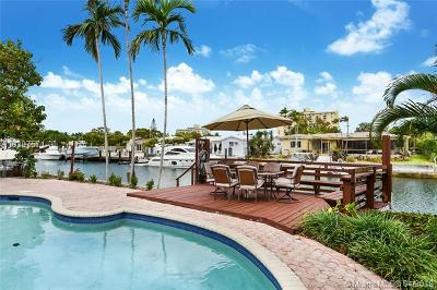 North Miami Single Family Home For Sale: 2315 Biscayne Bay Dr