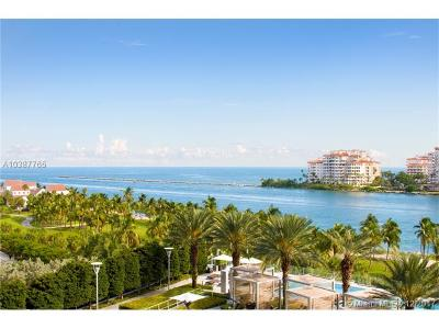 Miami Beach Condo For Sale: 800 S Pointe Dr #703