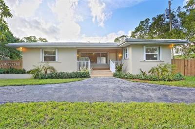 Cutler Bay Single Family Home Pending Sale: 18690 Old Cutler Rd